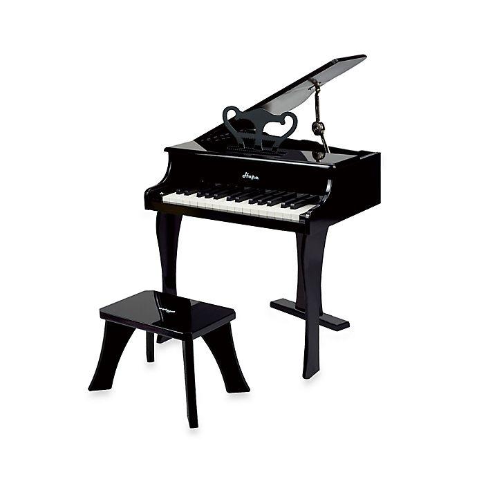 Alternate image 1 for Hape Happy Grand Piano in Black