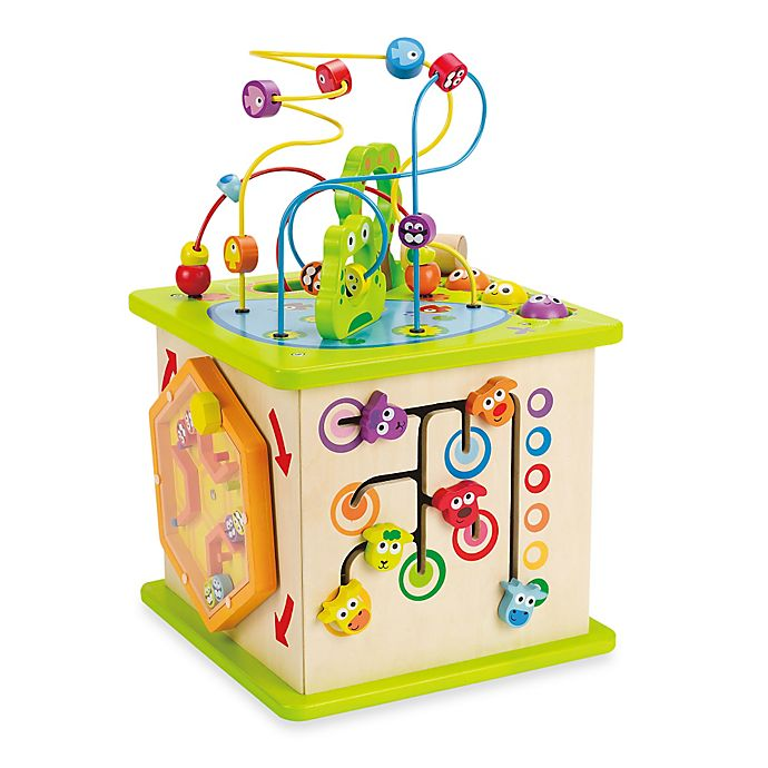 Alternate image 1 for Hape Country Critters Play Cube