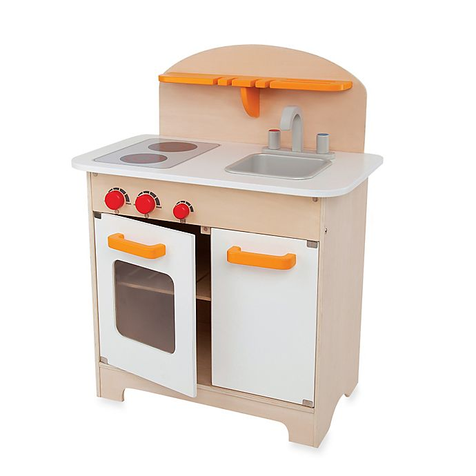 Hape Playfully Delicious Wooden Gourmet Kitchen Play Set Buybuy Baby