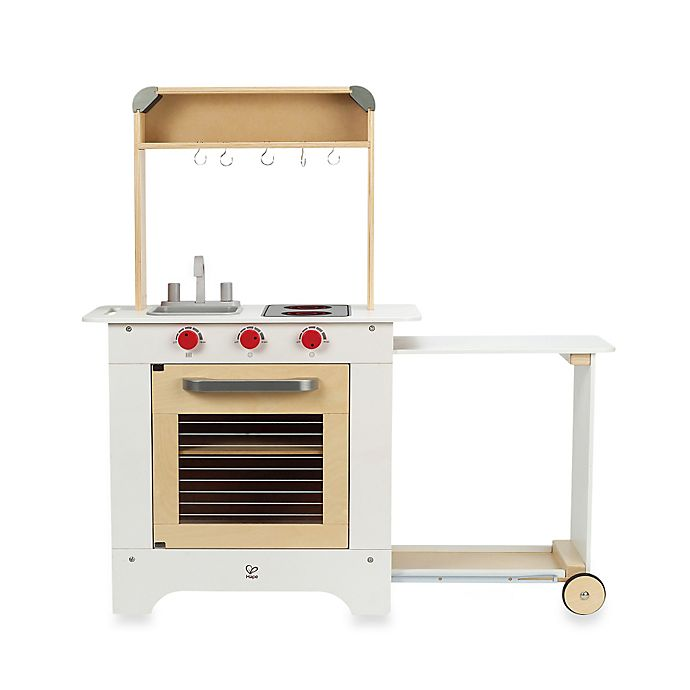Hape Playfully Delicious Wooden Cook N\' Serve Kitchen Play ...