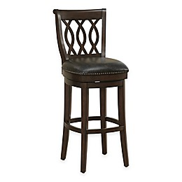 American Heritage Prado Swivel Stool in Brown