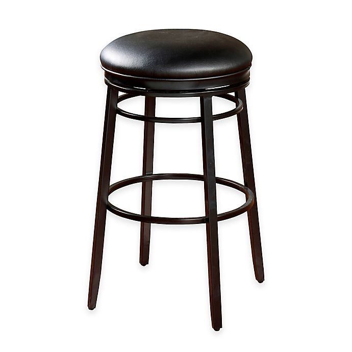 Alternate image 1 for American Heritage Silvano Counter Stool in Black