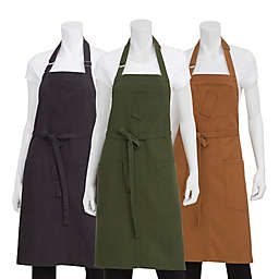 Chef Works® Rockford Canvas Bib Apron