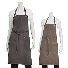 Chef Works® Antique Washed Dorset Bib Apron