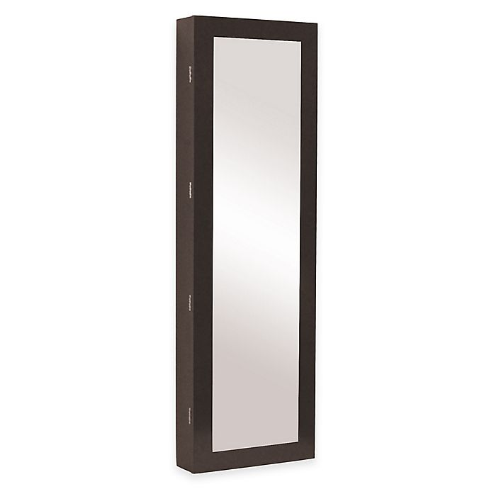 Alternate image 1 for Baxton Studio Clarissa Reflections Jewelry Armoire