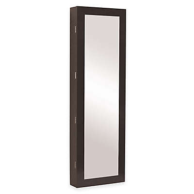 Baxton Studio Clarissa Reflections Jewelry Armoire