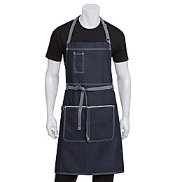 Chef Works® Bronx Bib Apron in Blue