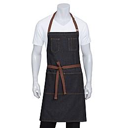 Chef Works® Memphis Denim Bib Apron in Black