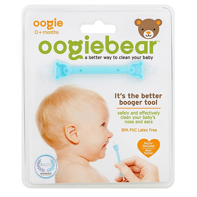 Alternate image 1 for oogiebear® Infant Nose & Ear Cleaner by oogie solutions  Booger, Snot & Earwax Removal Tool