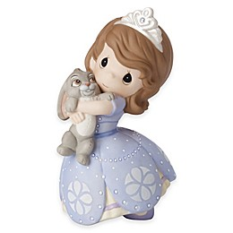"Precious Moments® Disney® There's no Bunny Like You ""Sofia the First"" Figurine"