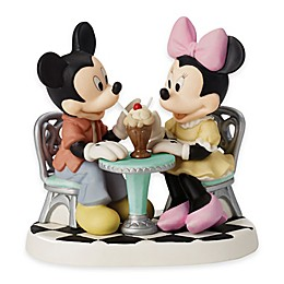 Precious Moments® Disney® Showcase Life is so Sweet with You Mickey and Minnie Figurine