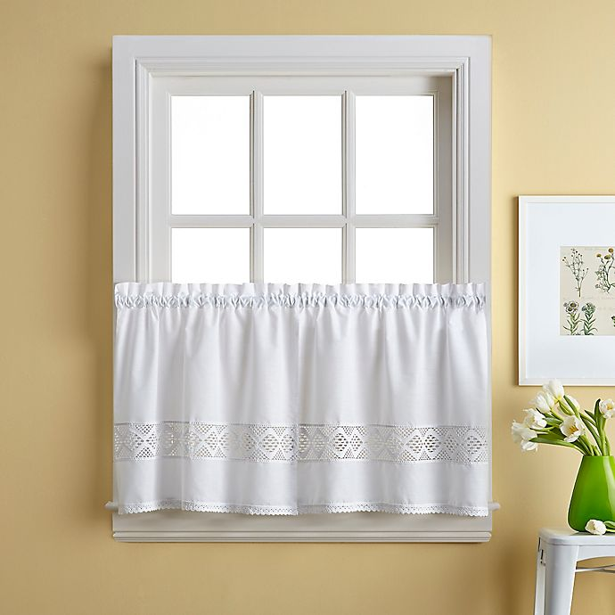 Alternate image 1 for Kendra 36-Inch Window Curtain Tier Pair
