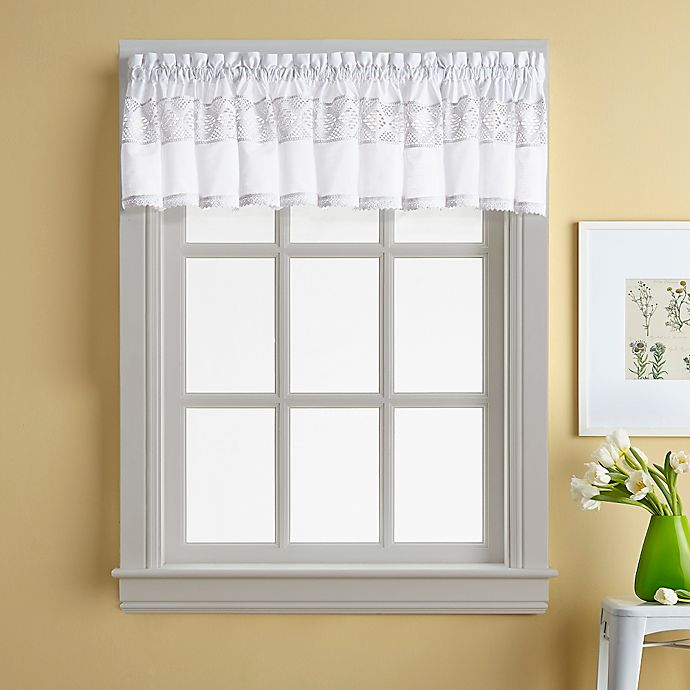 Alternate image 1 for Kendra Window Curtain Valance