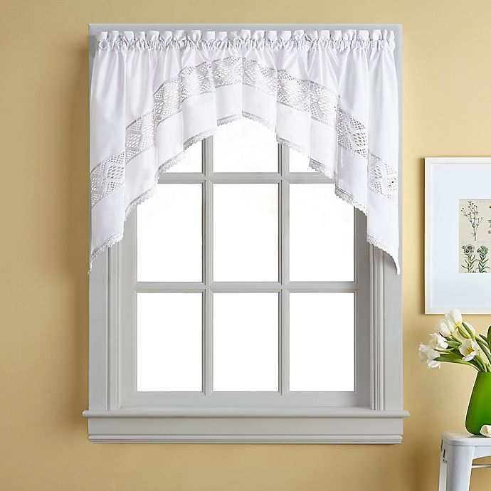 Kendra Window Curtain Swag Valance Bed Bath Amp Beyond