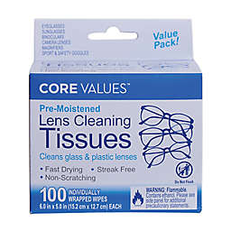 Core Values™ 100-Count Lens Wipes