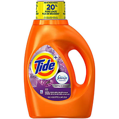 Tide® 46 oz. Febreze Freshness Laundry Detergent in Spring and Renewal