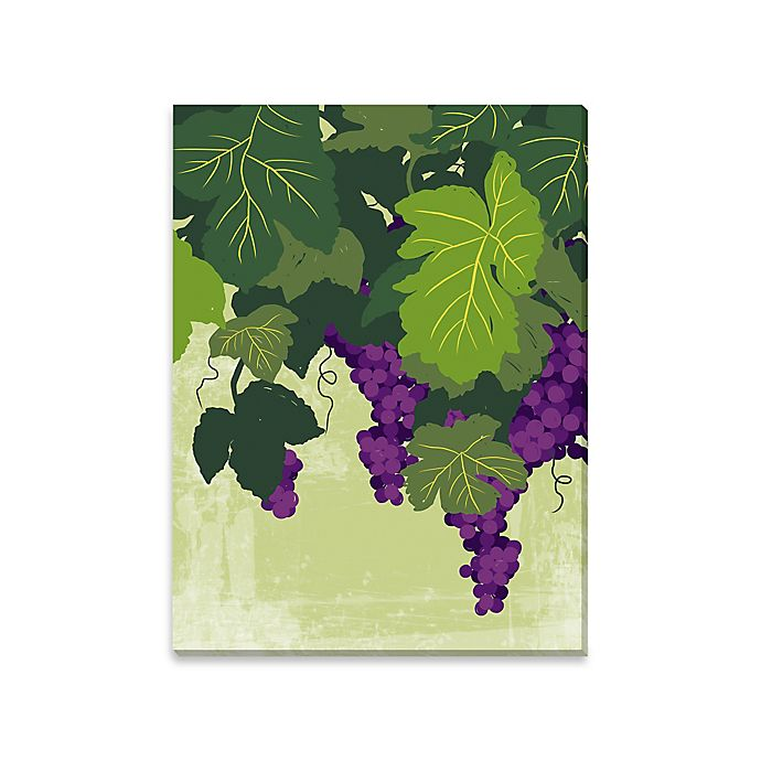 Alternate image 1 for Wine on the Vine Canvas Wall Art