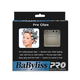 BaByliss Pro 10-Pack Super Hair Roller Clips