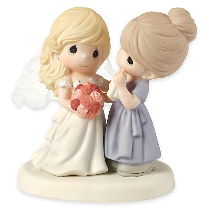 Alternate image 1 for Precious Moments® My Daughter, My Pride, a Beautiful Bride Figurine