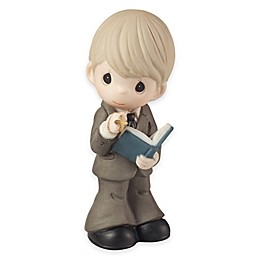 Precious Moments® Boy with Bible and Rosary Figurine