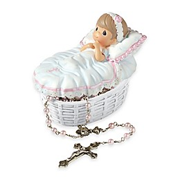 Precious Moments® Baptized in His Name Girl Rosary Box