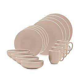 Vera Wang Wedgwood® Vera Colors 16-Piece Dinnerware Set in Taupe