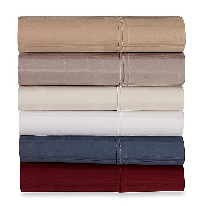 Alternate image 1 for Pure Beech Modal® Dobby Stripe Pillowcases (Set of 2)