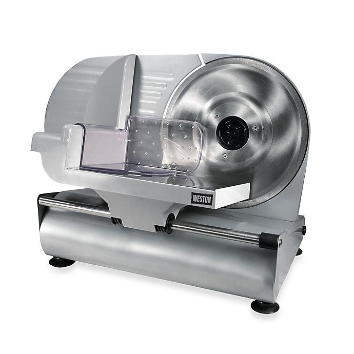 Alternate image 1 for Weston® 9-Inch Meat Slicer