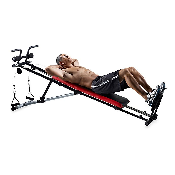 Weider® Ultimate Body Works Adjustable Incline Exercise Bench | Bed