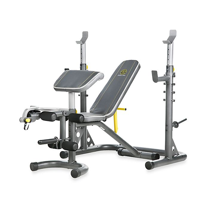Awe Inspiring Golds Gym Xrs 20 Olympic Workout Bench Bed Bath Beyond Creativecarmelina Interior Chair Design Creativecarmelinacom