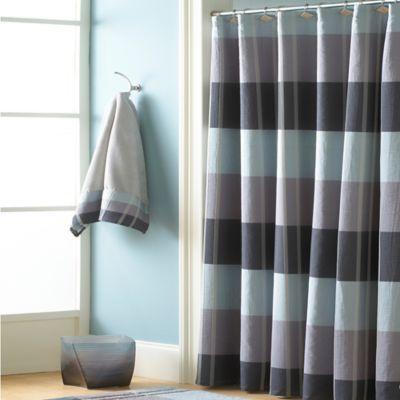 CroscillR Fairfax Shower Curtain In Slate