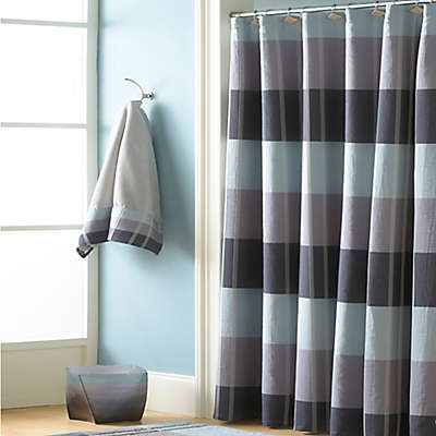 Croscill® Fairfax Shower Curtain in Slate