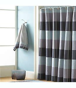 Cortina de baño de poliéster Croscill® Fairfax de 1.82 x 1.82 m color azul pizarra