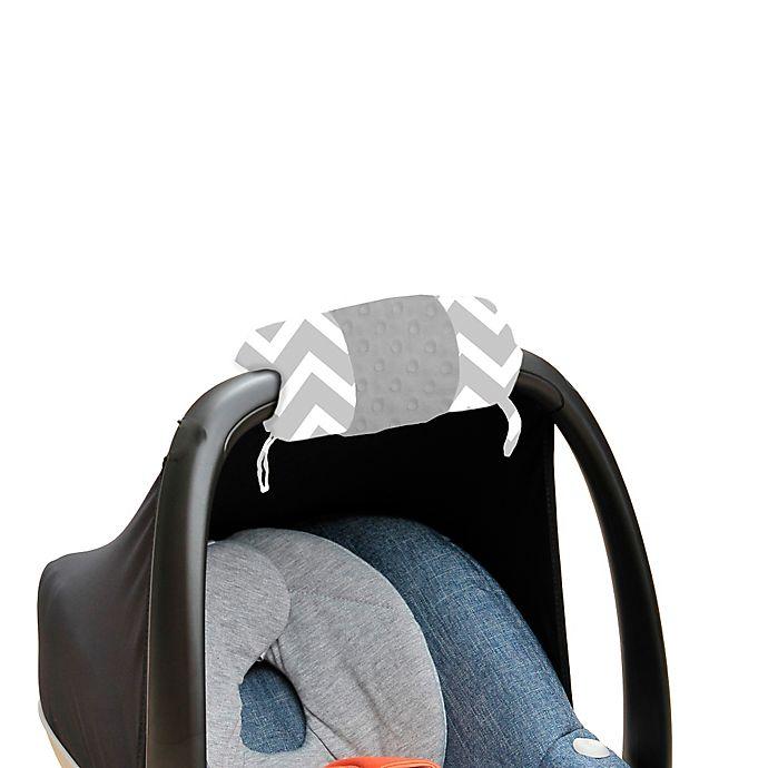 Alternate image 1 for Itzy Ritzy® Ritzy Wrap™ Infant Car Seat Handle Arm Cushion in C. Grey Chevron