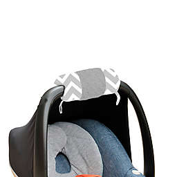 Itzy Ritzy® Ritzy Wrap™ Infant Car Seat Handle Arm Cushion in C. Grey Chevron