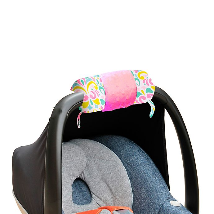 Alternate image 1 for Itzy Ritzy® Ritzy Wrap™ Infant Car Seat Handle Arm Cushion in Brocade Splash