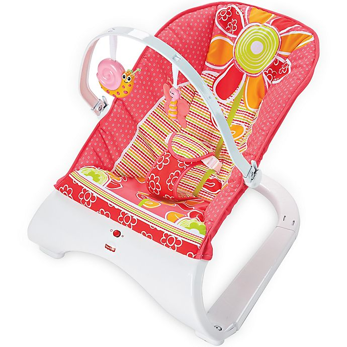 Alternate image 1 for Fisher-Price® Comfort Curve™ Bouncer in Floral Confetti