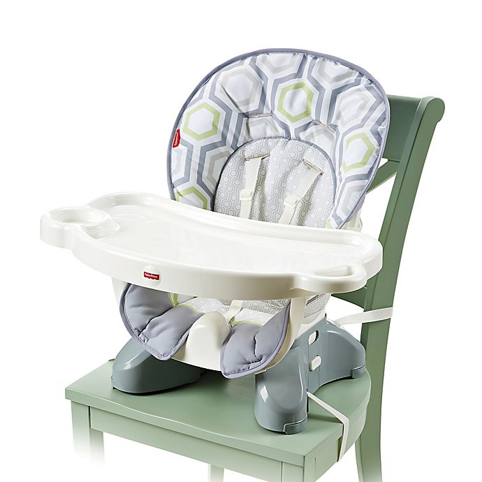 Alternate image 1 for Fisher-Price® Spacesaver High Chair in Geo Meadow™