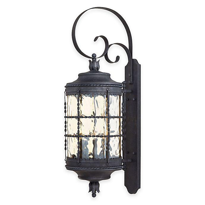 Alternate image 1 for Minka Lavery® Mallorca™ Wall-Mount Outdoor 5-Light Lantern in Iron