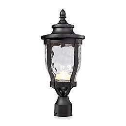 The Great Outdoors® Merrimack™ Post-Mount Outdoor Light in Black