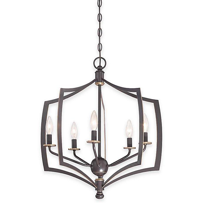 Alternate image 1 for Minka Lavery® Middletown 5-Light Chandelier in Downtown Bronze