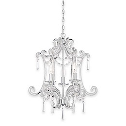 Minka Lavery® 3-Light Candelabra Chandelier in Chrome