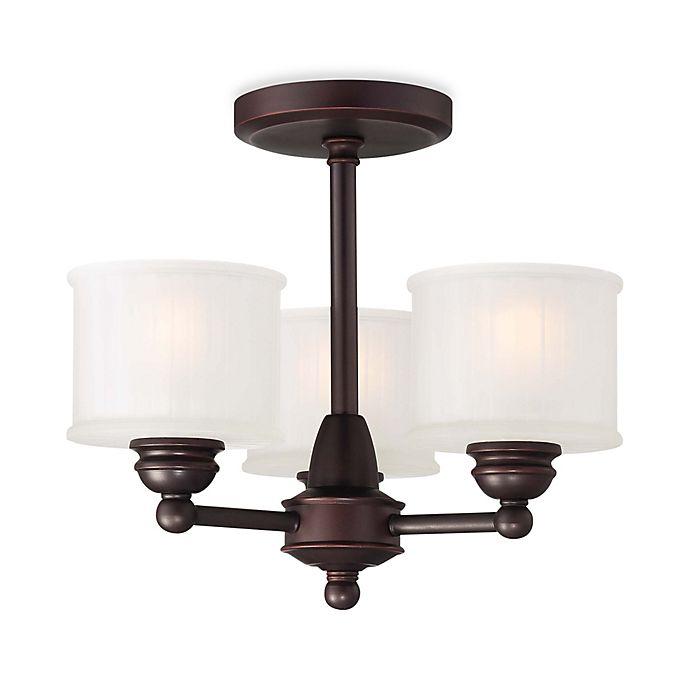1730 Series 3 Light Semi Flush Mount