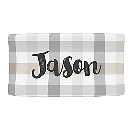 Carousel Designs® Buffalo Check Nursery Changing Pad Cover