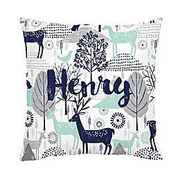 Carousel Designs® Woodland Square Throw Pillow