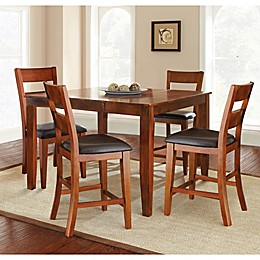 Steve Silver Co. Mango Counter Height Dining Set in Cherry