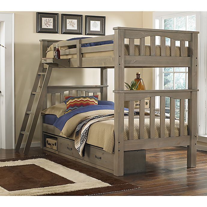Alternate image 1 for Hillsdale Kids and Teen Highlands Harper Bunk Bed with Storage