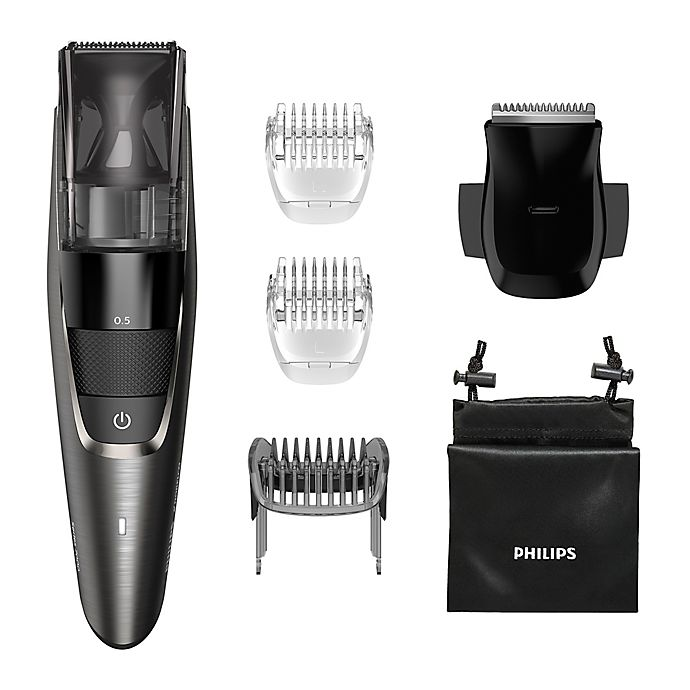 Alternate image 1 for Philips Norelco Series 7500 Electric Beard Trimmer in Silver