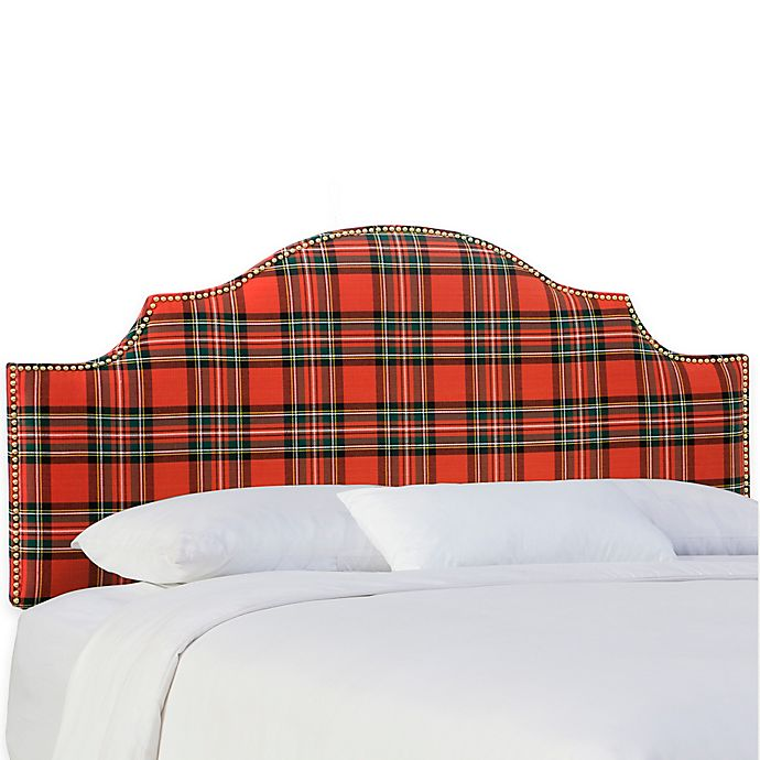 Alternate image 1 for Skyline Furniture Sheffield Full Headboard in Ancient Stewart Red