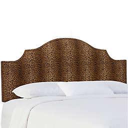 Skyline Furniture Sheffield California King Headboard in Cheetah Earth